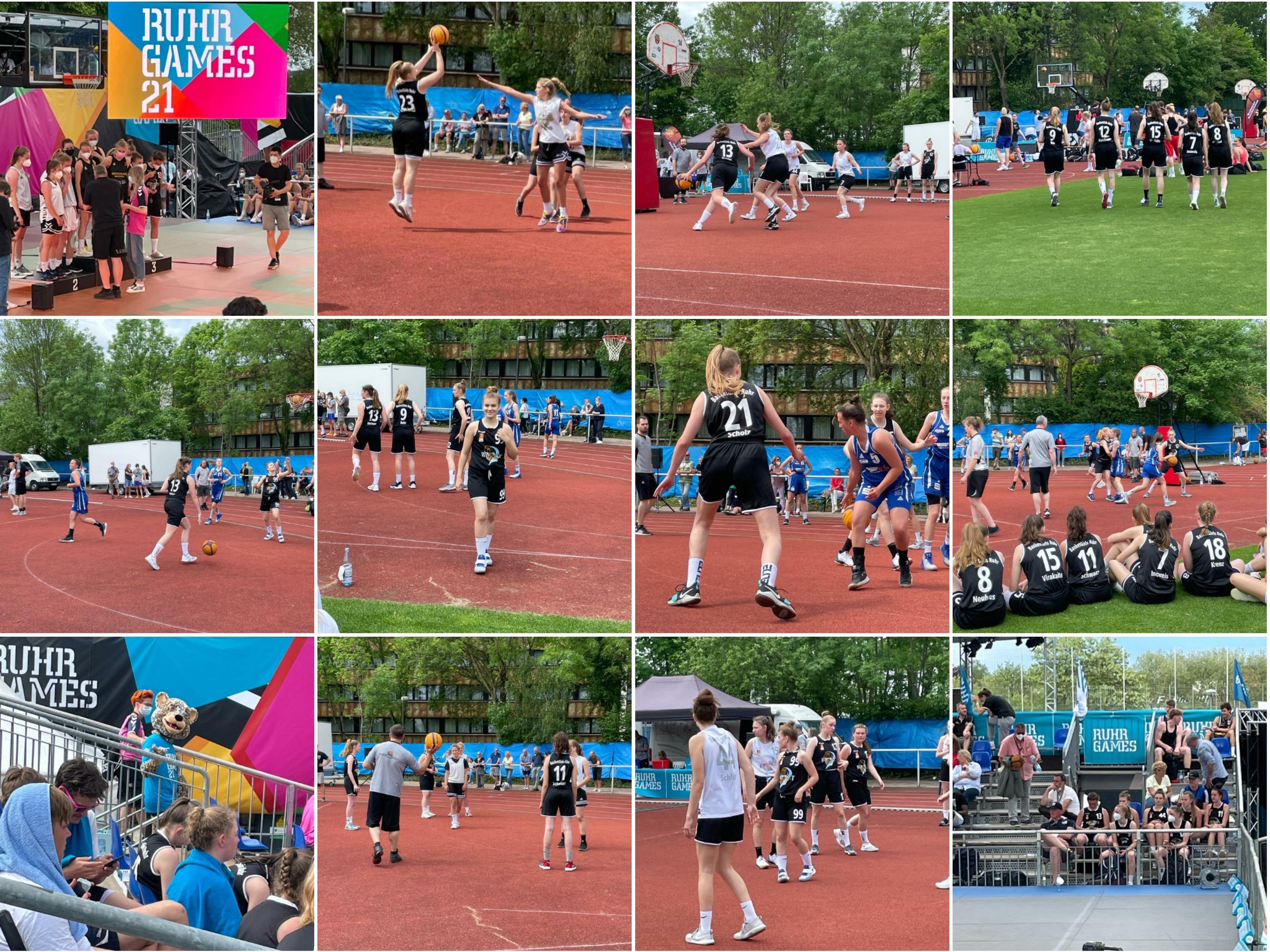 BasketGirls Ruhr - 3x3 bei den RuhrGames Part 1