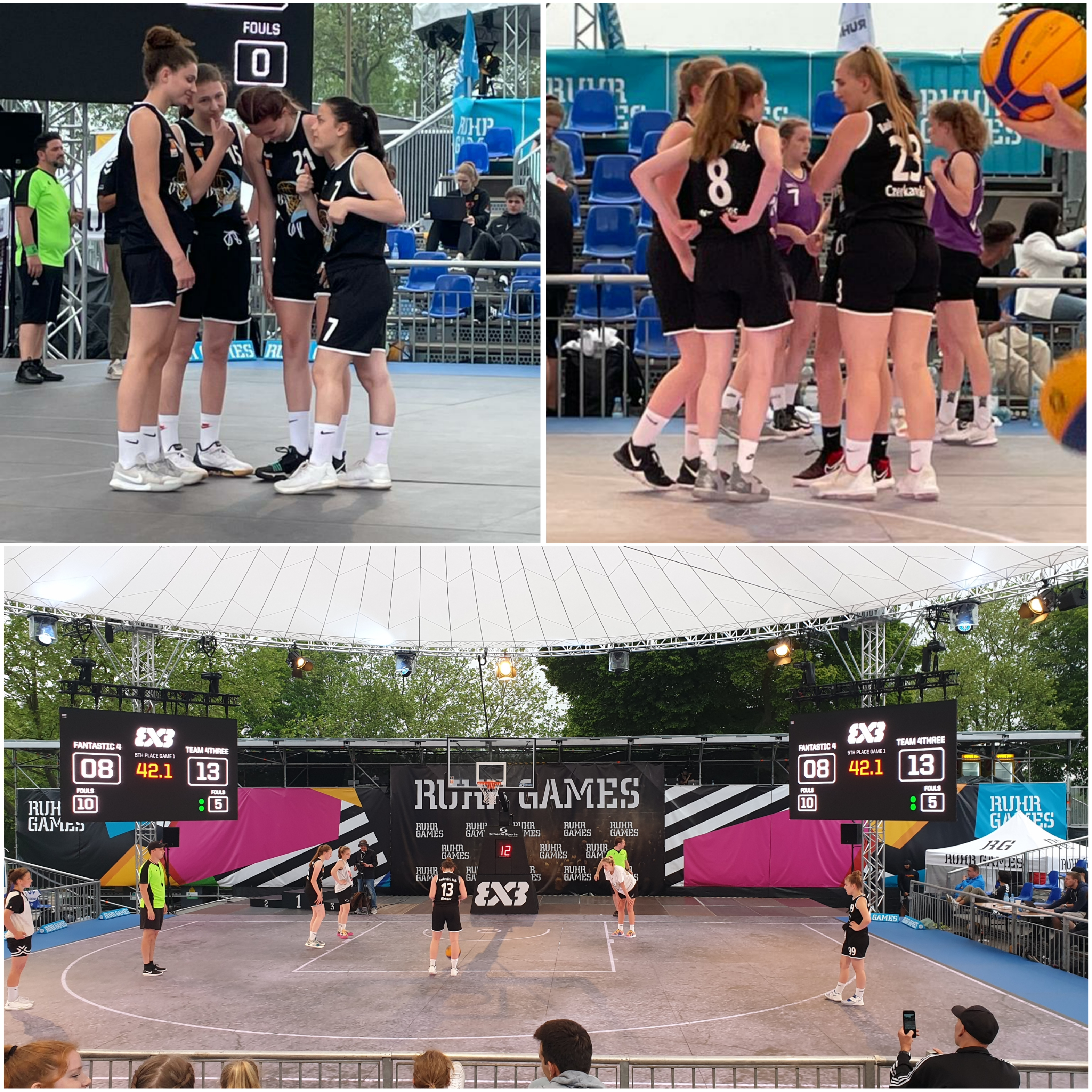 BasketGirls Ruhr - 3x3 bei den RuhrGames Part 3